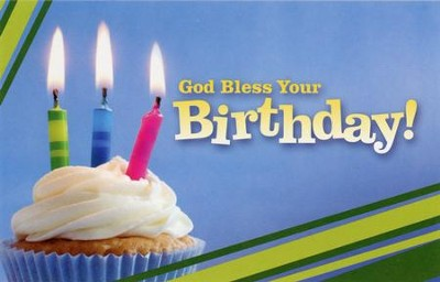God Bless Your Birthday  -