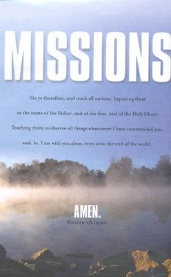 Teach All Nations (Matthew 28:19-20) Mission Bulletins/100  -
