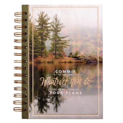 Commit to the Lord Spiral-bound Journal  -
