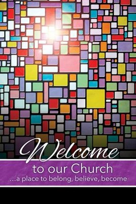 Welcome to Our Church--Welcome Folders (pkg. of 12)  -