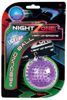 NightZone Light Up Rebound Ball  -