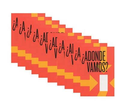¿Adonde Vamos? - pamphlet - pack of 10   -     By: Stonecroft Ministries