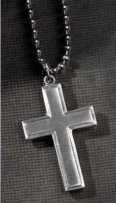 Joshua 1:9 Cross Pendant  -