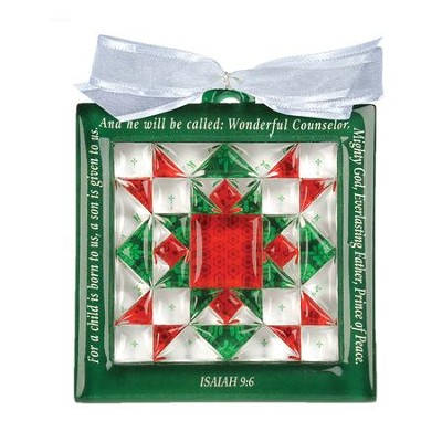 Christmas Star, Quilt Block Ornament - Christianbook.com : christmas star quilt block - Adamdwight.com