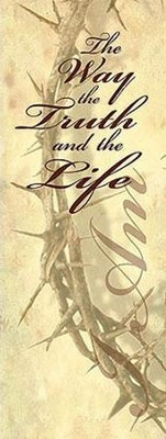 The Way, the Truth, the Life X-Stand Banner  -