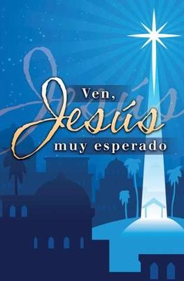 Ven, Jesús Muy Esperado, Spanish Christmas Bulletins, 100 ...