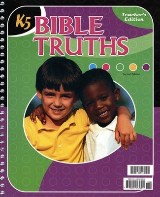 BJU K5 Bible Truths, Teacher's Edition (Second Edition)   -