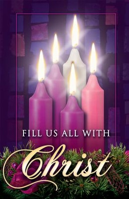 Fill Us with Christ, Advent Bulletins, 100  -