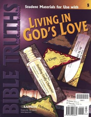 BJU Bible Truths 5: Living in God's Love Student Materials Packet  -