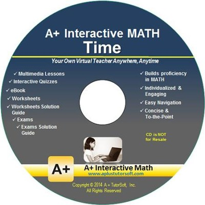 A+ Interactive Supplemental Math Time on CD-ROM  -