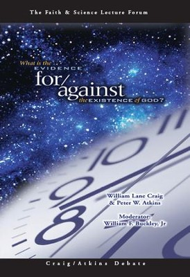 What is the Evidence for/against the Existence of God? - DVD  -     By: William Lane Craig