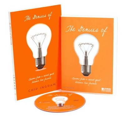 The Genius of Generosity Personal Study Kit (1 DVD Set &  1 Book)  -     By: Chip Ingram