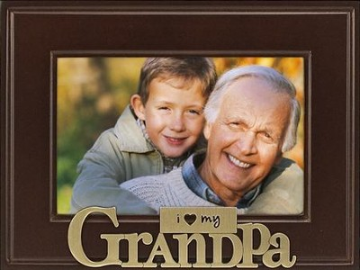Grandpa I Love You Photo Frame  -