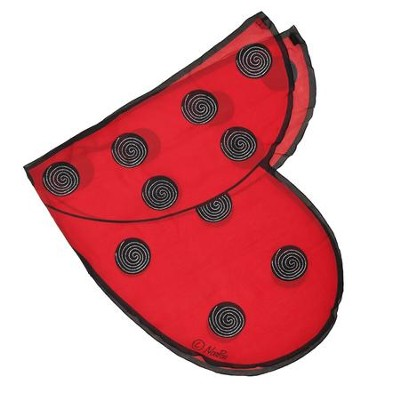 Ladybird Dress Up Wings, Red  -