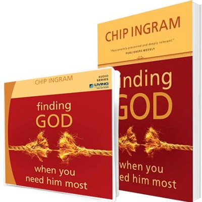 Finding God Individual Study Pack (1 CD Series & 1 Book)  -     By: Chip Ingram