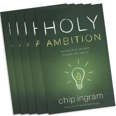 Holy Ambition Book 5 Pack   -     By: Chip Ingram