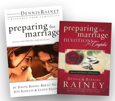 Preparing for Marriage/Preparing for Marriage Devotions for Couples, 2 Volumes  -     By: Dennis Rainey, Barbara Rainey