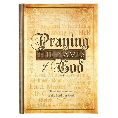 Praying the Names of God Gift Book  -