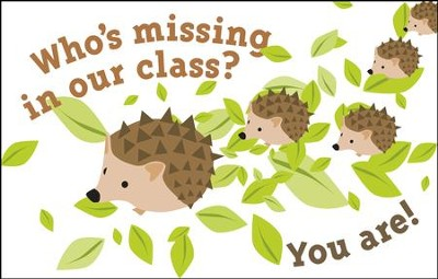 Billboard - Who's Missing in Our Class Postcards, 25  -