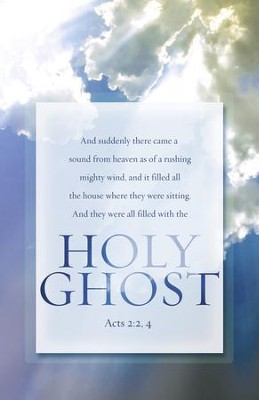 the holy ghost pentecost acts 2 2 4 kjv bulletins 100
