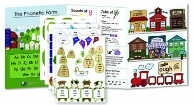 Primary Arts of Language: Phonetic Farm with Stickers   -