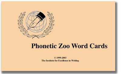 The Phonetic Zoo Lesson Cards Only   -