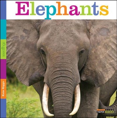 Seedlings: Elephants  -     By: Kate Riggs