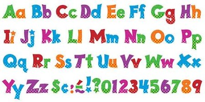 4 Snazzy Friendly Combo Ready Letters Pack   -