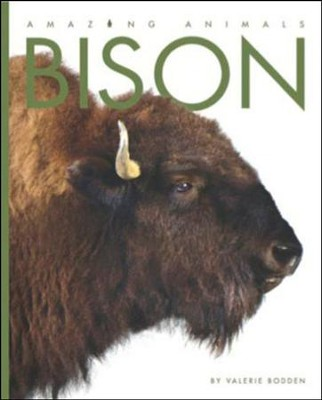 Amazing Animals: Bison  -     By: Valerie Bodden