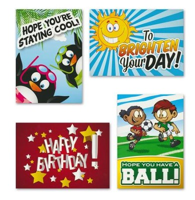 Just for Fun! Kids (ESV) Box of 12 Assorted All Occasion Cards  -