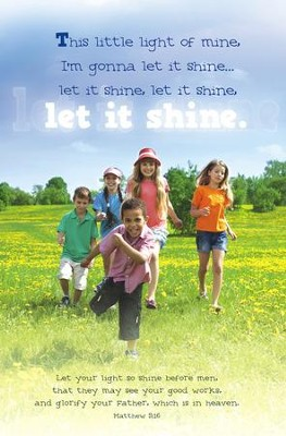 Let it Shine (Matthew 5:16) Bulletins, 100  -