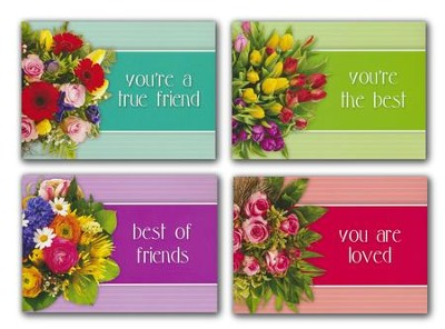 You Are Loved (KJV) Box of 12 Assorted Friendship Cards  -