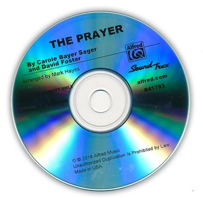 The Prayer / Sound Track CD  -     By: Mark Hayes