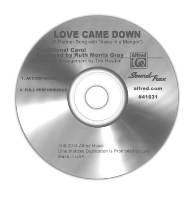 Love Came Down / Sound Track CD  -     By: Ruth Morris Gray