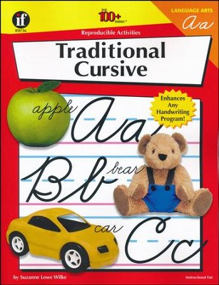 The 100+ Series: Traditional Cursive   -