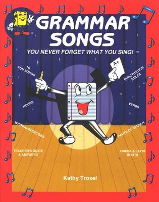 Audio Memory Grammar Songs Book Only   -     By: Larry Troxel