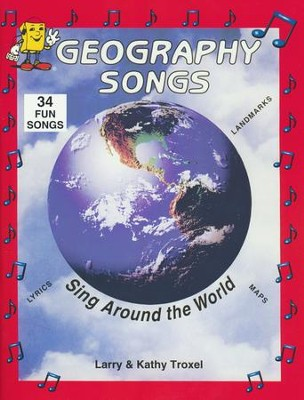 Audio Memory Geography Songs Book Only   -     By: Larry Troxel