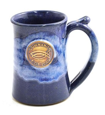 Community Bible Study Mug - Blue   -
