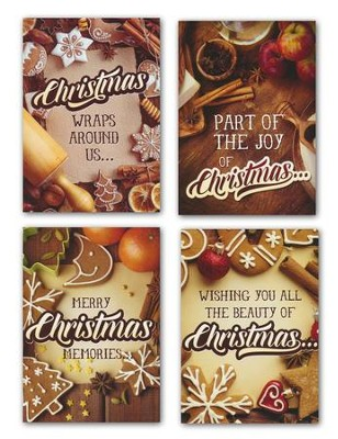 Sugar & Spice, Box of 12 Assorted Christmas Cards (KJV)  -