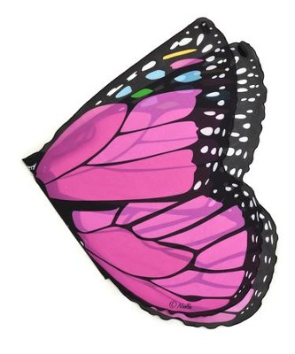 Monarch Dress Up Wings, Pink  -