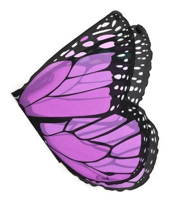 Monarch Dress Up Wings, Purple  -