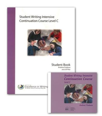 IEW Student Writing Intensive: Continuation Course, Level C 9 DVDs, 1 Student Packet  -