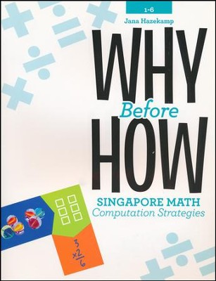 Why Before How: Singapore Math Computation Strategies, Grades 1-6  -     By: Jana Hazekamp