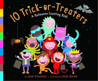 10 Trick-or-Treaters - eBook  -     By: Janet Schulman     Illustrated By: Linda Davick