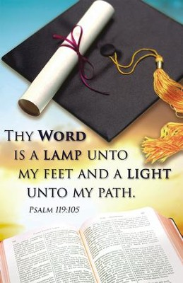 Thy Word Is a Lamp (Psalm 119:105) Bulletin, 100  -