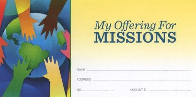 My Offering for Missions, Offering Envelopes 100  -