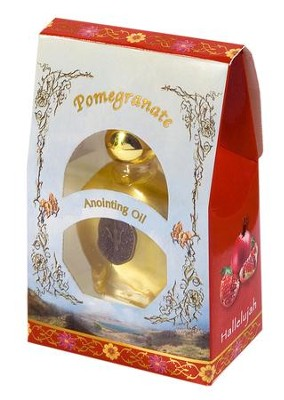 Anointing Oil, Pomegranate Scent .50 OZ  -