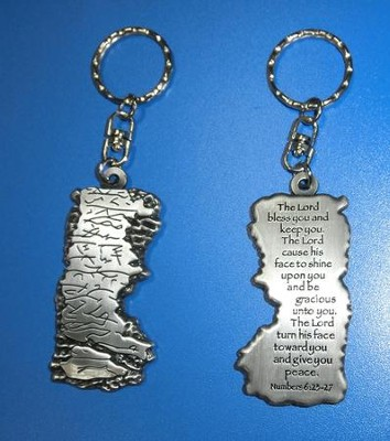 Aaronic Blessing Keyring   -