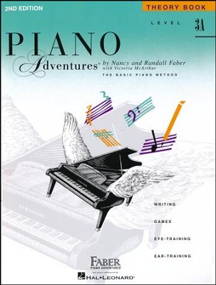 Piano Adventures 2nd Edition, Theory Book, Level 3A  -     By: Nancy Faber, Randall Faber