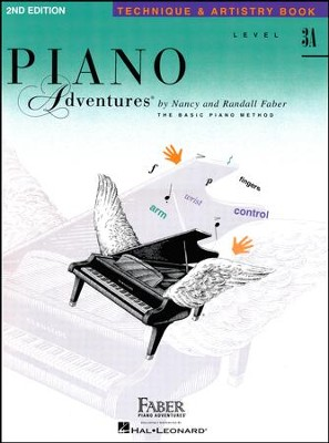 Piano Adventures 2nd Edition, Technique & Artistry Book, Level 3A  -     By: Nancy Faber, Randall Faber